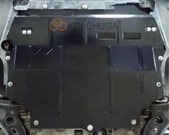 Фото товара 2 - Защита двигателя и КПП для Volkswagen Caddy '16-, V-2,0TDI, МКПП (Кольчуга) Zipoflex