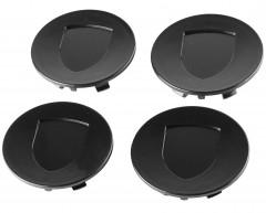 Колпачки на диски без эмблемы, черные 76x58 мм (4 шт.)
