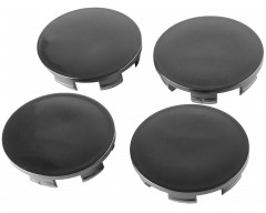 Колпачки на диски без эмблемы, черные 68x63 мм (4 шт)