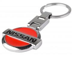 """Брелок для ключей с логотипом """"Nissan"""", металлический"""