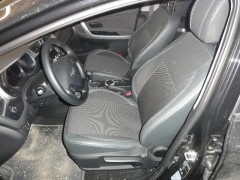Авточехлы Premium для салона Kia Ceed '12- серая строчка (MW Brothers)