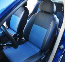 MW Brothers Авточехлы Premium для салона Chevrolet Aveo '04-11, седан синяя строчка (MW Brothers)