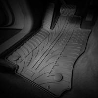 Фото товара 2 - Коврики в салон для Volkswagen T-Cross '19-, резиновые, черные (GledRing)