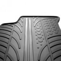 Фото товара 3 - Коврики в салон для Volkswagen T-Cross '19-, резиновые, черные (GledRing)