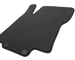 Фото товара 6 - Коврики в салон для Nissan Rogue Sport '17-, EVA-полимерные, черные (Kinetic)