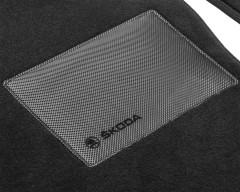 Фото 2 - Коврики в салон для Nissan Rogue Sport '14-, текстильные, черные (Optimal)