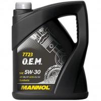 Mannol Mannol 7723 O.E.M. 5W-30, 5 л