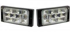 Противотуманные фары для LADA 2110-12 комплект (Dlaa) LED