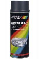 Аэрозольная акриловая эмаль для бампера темно-серая 400  мл. (Motip)