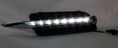 Дневные ходовые огни для BMW X5 E70 2007-2009 (LED-DRL)