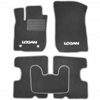 Textile-Pro Коврики в салон для Renault Logan '13- текстильные, серые (Стандарт Плюс)