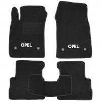 Textile-Pro Коврики в салон для Opel Vectra C '02-08, седан/хетчбек, текстильные, черные (Стандарт Плюс)