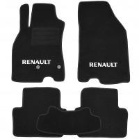 Коврики в салон для Renault Megane 3 '08-16, универсал текстильные, черные (Стандарт Плюс)