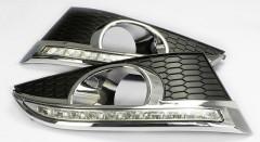 Дневные ходовые огни для Chevrolet Captiva '12- (LED-DRL)