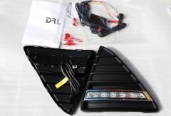Фото 1 - Дневные ходовые огни для Ford Focus III '11- (LED-DRL)