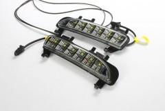 Дневные ходовые огни для Ford Edge '12-16 V2 с повторителем поворота (LED-DRL)