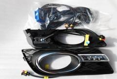 Дневные ходовые огни для Honda Civic 4D '12- (LED-DRL)