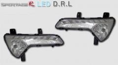 Фото 1 - Дневные ходовые огни для Kia Sportage '10-15 (ПТФ) (LED-DRL)