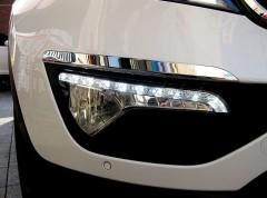 Фото 4 - Дневные ходовые огни для Kia Sportage '10-15 (ПТФ) (LED-DRL)