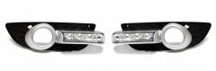 Дневные ходовые огни для Mitsubishi Lancer X '07-11 (LED-DRL)