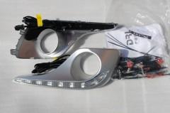 Дневные ходовые огни для Toyota Highlander '10-13 (LED-DRL)