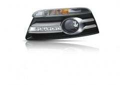 Дневные ходовые огни для Volkswagen Passat CC '09-16 (LED-DRL)