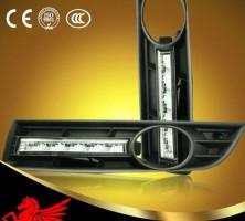 Дневные ходовые огни для Volkswagen Passat B6 '05-10 (LED-DRL)