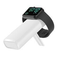 Беспроводной портативный аккумулятор COTEetCI PB-2 5200mAh белый с поддержкой зарядки Apple Watch (PB5119-WH)