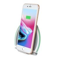 Беспроводное ЗУ Baseus Foldable Multifunction Wireless Charger белое (WXZD-02)