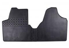 Коврики в салон для Fiat Scudo '07-16 резиновые, черные (Rigum)