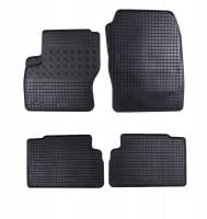 Коврики в салон для Ford C-Max '11- резиновые, черные (Rigum)