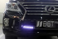Дневные ходовые огни для Lexus LX  '12- (BGT-Pro)