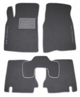 Коврики в салон для Chrysler Sebring '01-10 текстильные, серые (Люкс)