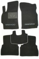 Коврики в салон для Daewoo Leganza '97-03 текстильные, серые (Люкс)