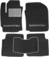 Коврики в салон для Daihatsu Materia '07-12 текстильные, серые (Люкс)