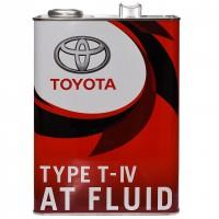 Масло трансмиссионное Toyota ATF TYPE T-IV, 4 л.