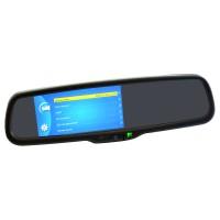 Зеркало заднего вида со встроенным монитором Prime-X 050DW Full HD (на штатном креплении)