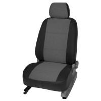 Авточехлы текстильные для салона Chevrolet Lacetti '03-12 SDN/HB тёмно-серые (Seintex)