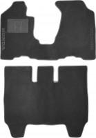 Коврики в салон для Honda Element '03-11 текстильные, серые (Люкс)