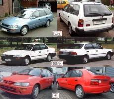 Подкрылок передний левый для Toyota Corolla E10 '1991-1997 (FPS)