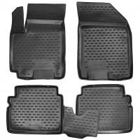 Коврики в салон для Chevrolet Aveo '04-11 полиуретановые (Format)