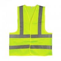 Жилет безопасности светоотражающий зеленый Intertool SP-2027