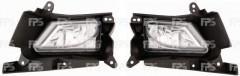 Противотуманная фара для Mazda 3 '09-13 USA левая H5-E механическая (DEPO) 454229-E