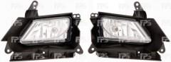 Противотуманная фара для Mazda 3 '09-13 EUR правая H8-E механическая (DEPO) 4542300E