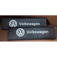 """Накладка на ремень безопасности (кожзам) """"Volkswagen"""""""