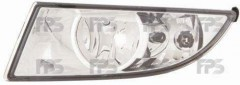 Противотуманная фара для Skoda Fabia II '10-14 левая (DEPO) 5J0941701B