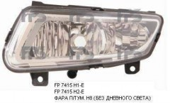 Противотуманная фара для VW Polo 7 '09-17 левая (Depo) без дневн. света 441-2040L-UEN