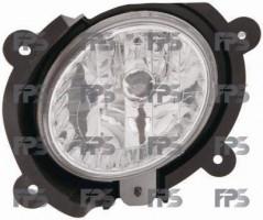 Противотуманная фара для Kia Cerato '04-06 левая (Depo) седан 922012F000