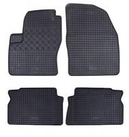 Коврики в салон для Ford C-Max '03-10 резиновые, черные (Rigum)