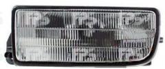 Стекло фары противотуманной для BMW 3, E36 '90-99 правое, рифленое HS2-P